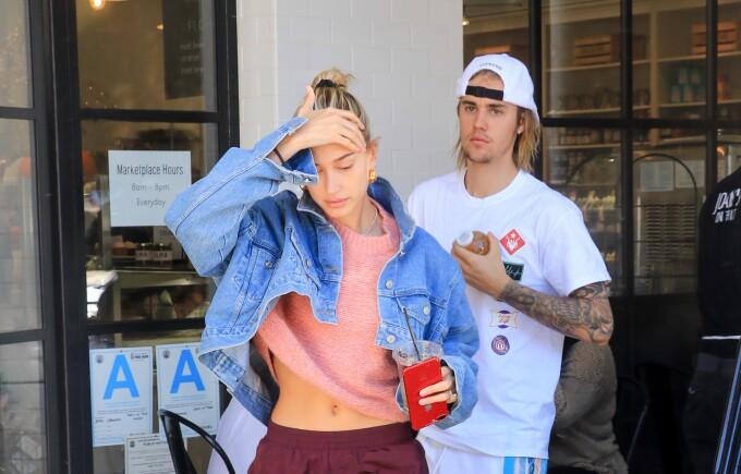 Justin Bieber și soția sa Hailey