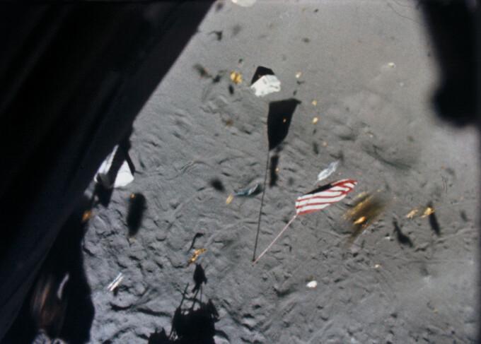 Imagini din cursul misiunilor americane Apollo pe Luna - 12