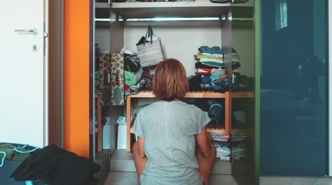 A făcut o descoperire macabră când a deschis dulapul mamei sale