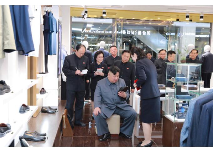 Reacția lui Kim Jong Un după ce a vizitat un mall în Coreea de Nord - 12