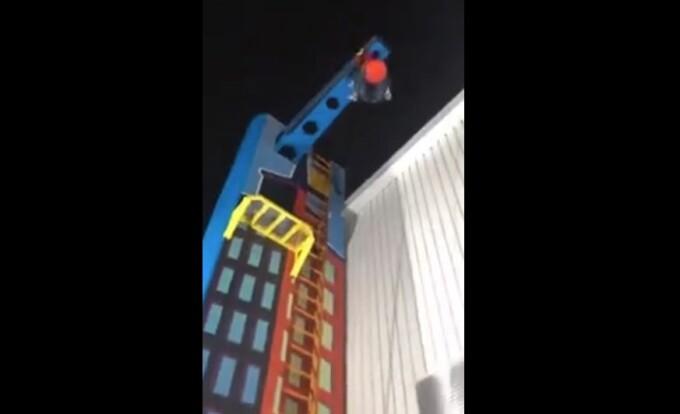 O tânără cade de la 15 m înălțime, într-un loc de joacă