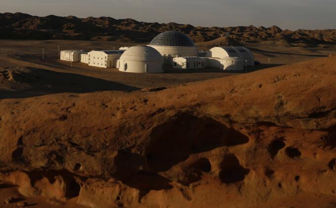 Baza Marte 1, construită de chinezi în deşertul Gobi - 1