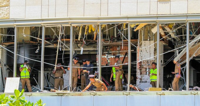 Atentat in Sri Lanka in ziua de Paste: imagini din hotelul Shangri La din Colombo