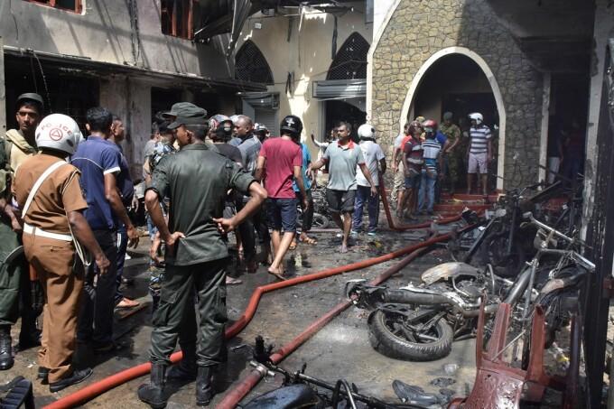 Atentat in Sri Lanka in ziua de Paste: imagini din biserica din Batticalova
