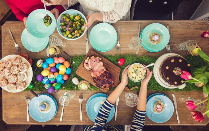 Cât bani au scos românii din buzunare pentru masa de Paște