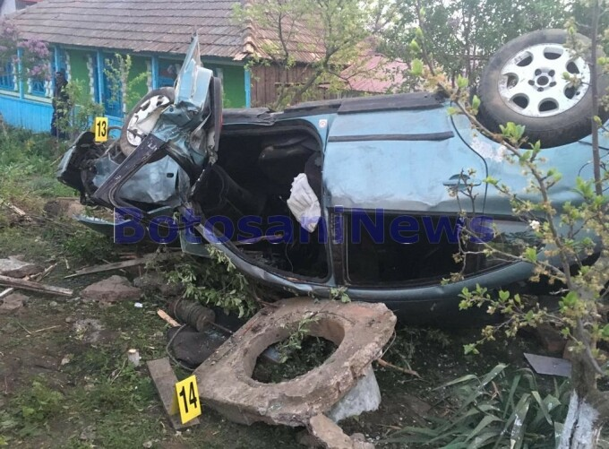 accident Botoșani