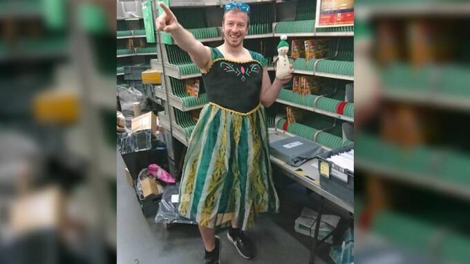 postas britanic in rochie