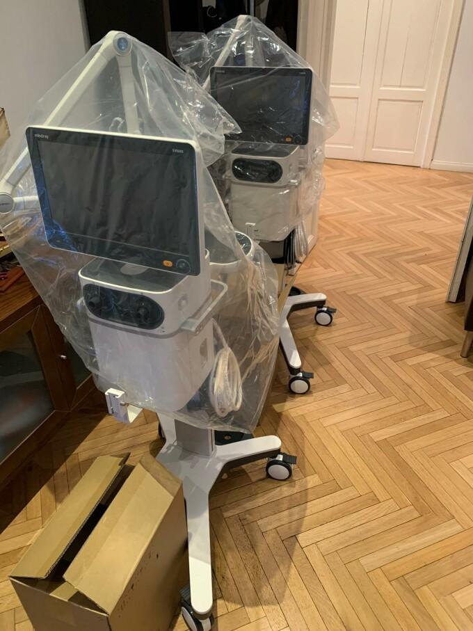 """2 ventilatoare ultra-performante, vitale pentru pacienții cu coronavirus, donate spitalelor prin """"Donează pentru linia întâi"""""""