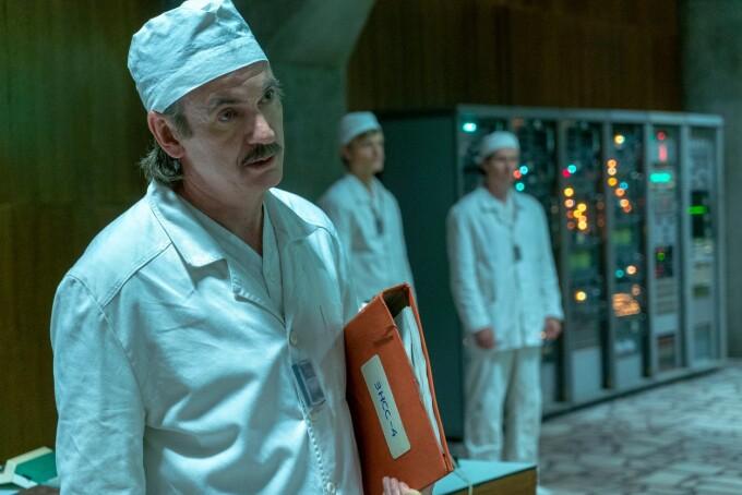 Paul Ritter, Cernobil