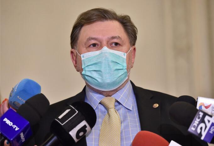 """Alexandru Rafila: Este """"perfect justificată"""" demiterea lui Vlad Voiculescu și """"un gest de responsabilitate"""" al premierului"""