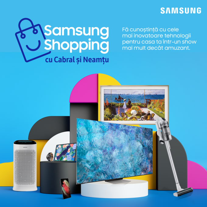 Produse Samsung cu discount pe Știrile PROTV. Iată cum poți obține reducerea