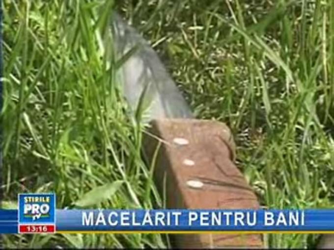 Crimă oribilă la Sibiu! Şi-a ucis iubitul cu mai multe lovituri de topor