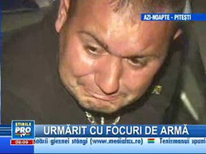 Bărbatul în stare de ebrietate a fost urmărit de poliţişti