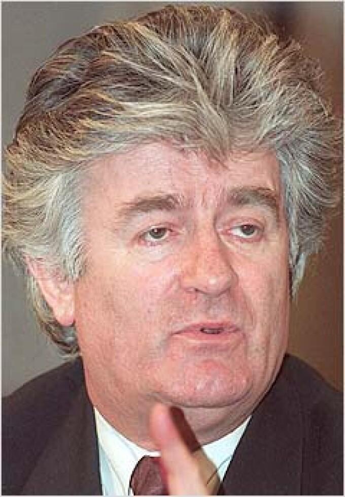 Guvernul sarb il va sustine pe Radovan Karadzici la Haga