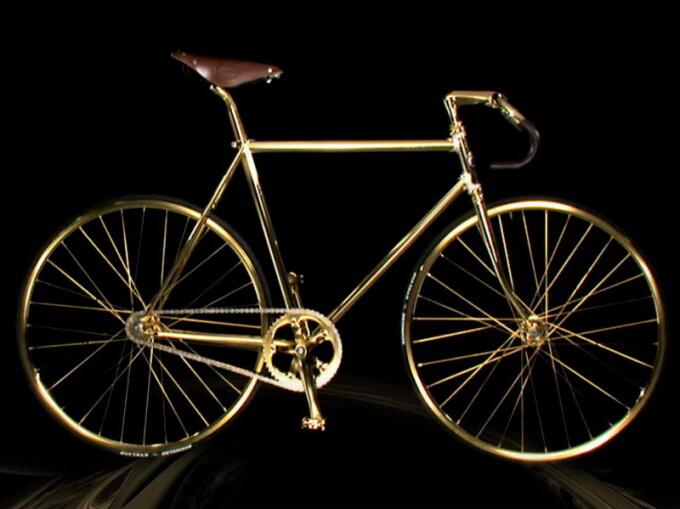 Bicicleta de aur