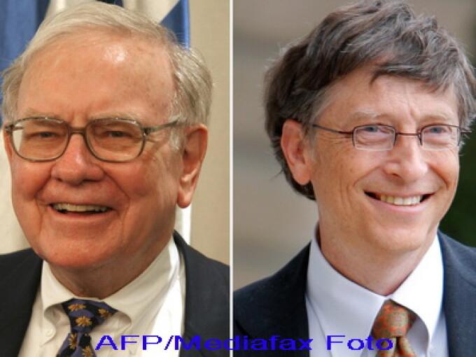 Bill Gates si Warren Buffett