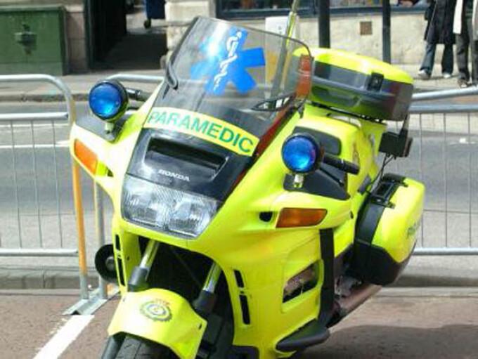 Motocicleta paramedic