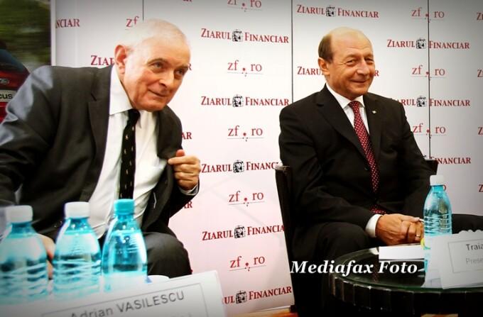Adrian Vasilescu si Traian Basescu