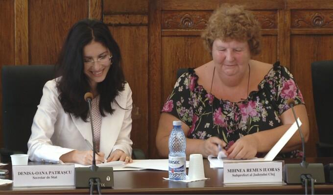 Protocolul de colaborare intre Ministerul Muncii si Comitetul National Paralimpic s-a semnat la Cluj