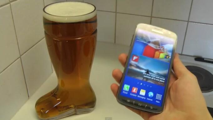test, Samsung Galaxy S4 in bere