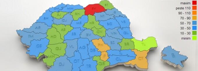 Harta Interactiva A Soselelor Negre Din Romania Cum A Ajuns