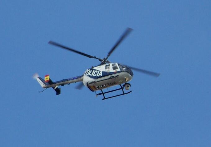 elicopter politia spaniola