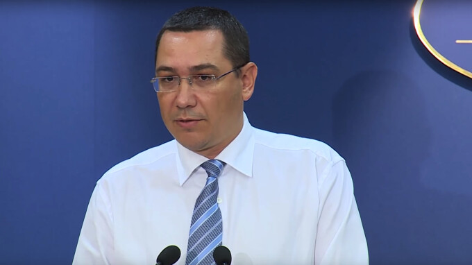 Victor Ponta declaratii la Guvern