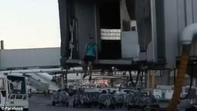 Barbat avion