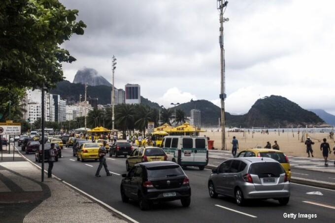 Trafic in Rio