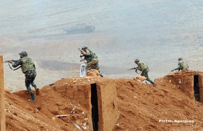 Soldati Siria - Agerpres