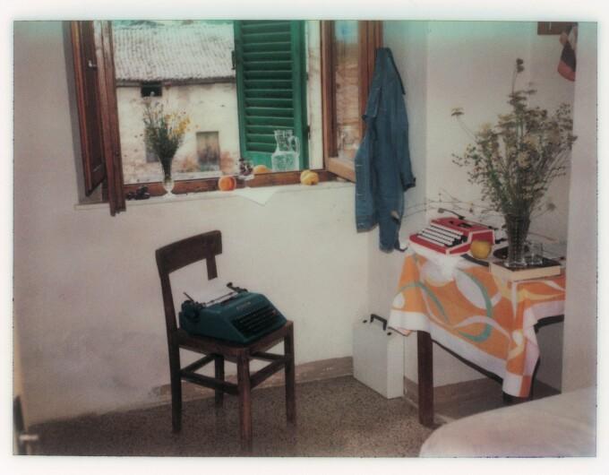 Fotografie Polaroid facuta de Andrei Tarkovski