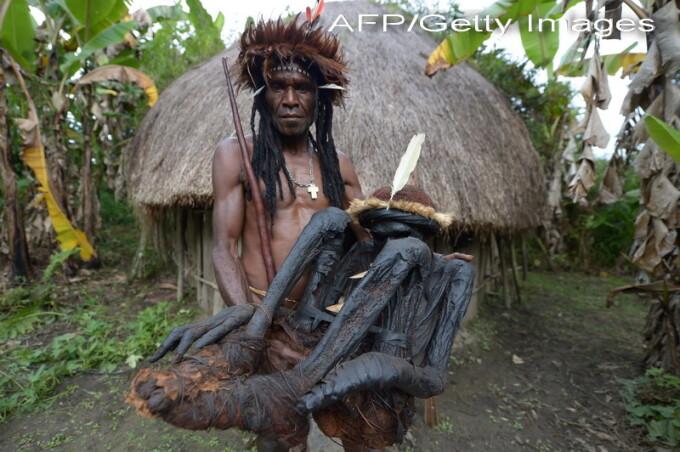 trib Papau Noua Guinee - AFP/Getty