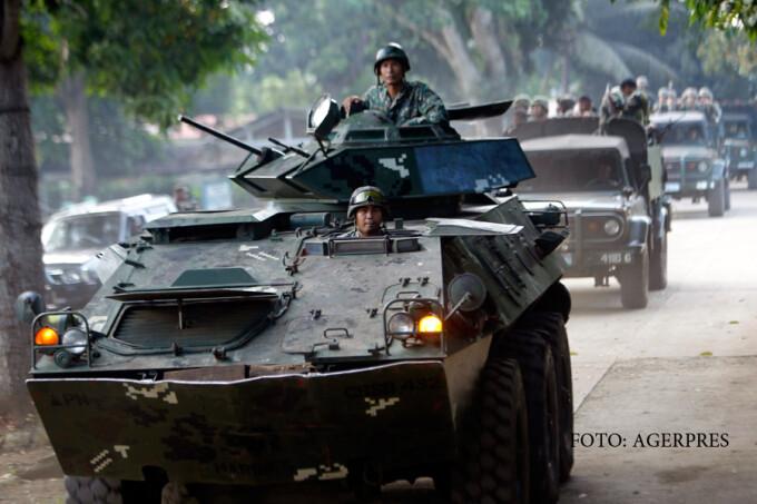 soldati filipinezi