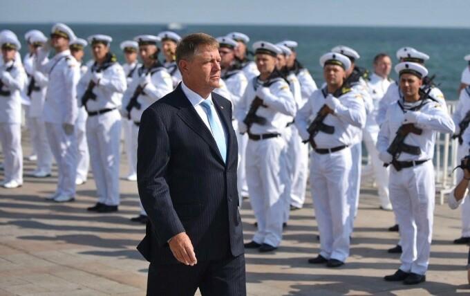 Participarea lui Klaus Iohannis la Ziua Marinei