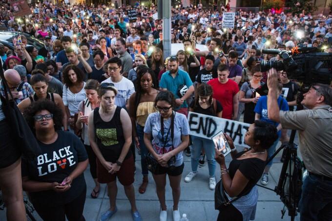 Proteste violente în Charlottesville