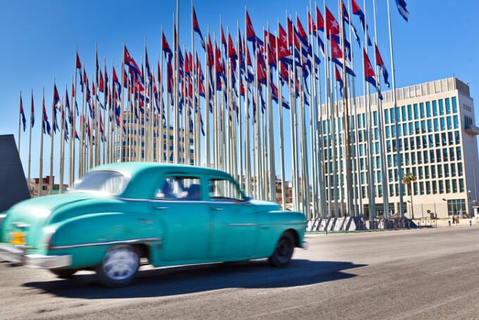 Ambasada americana din Havana