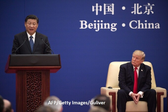Xi Jinping si Donald Trump - AFP/Getty
