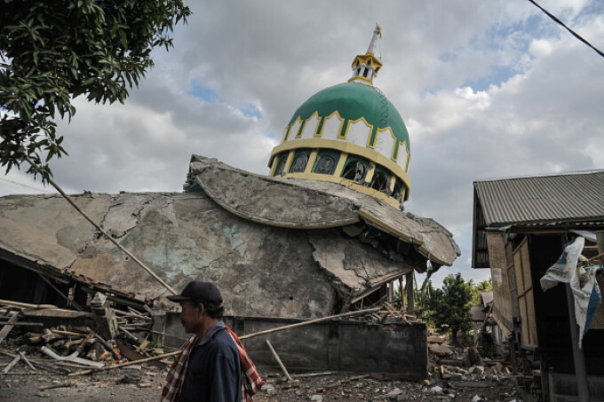 Lombok, cutremur, insula,
