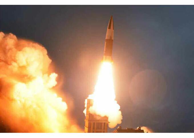 Test cu rachete in Coreea de Nord, supervizat de Kim Jong-Un