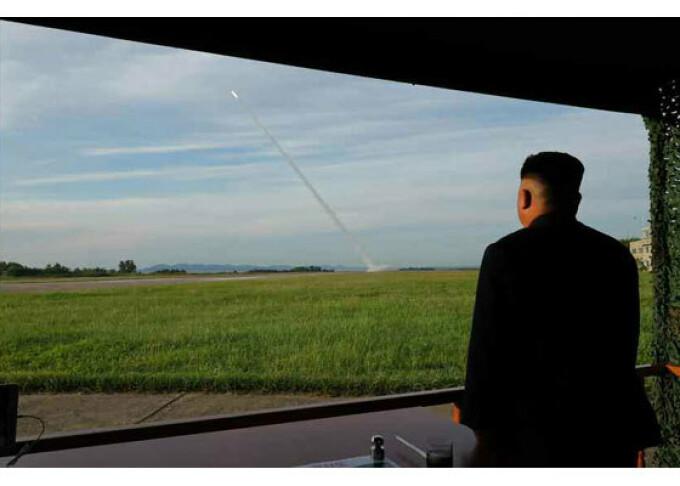 Test al unui lansator multiplu de rachete, in Coreea de Nord - 16