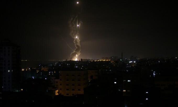 rachete lansate de armata israeliana