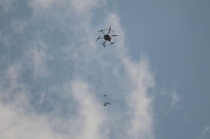 O dronă israeliană a explodat în Beirut