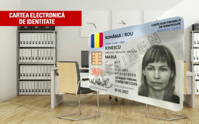 Românii vor avea cărţi de identitate noi