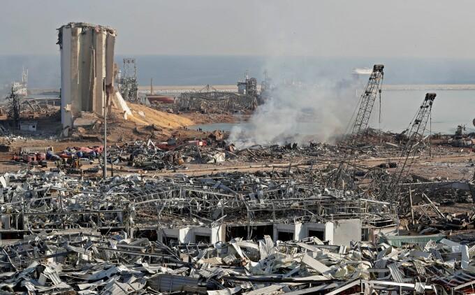 Imagini după explozia din Beirut, Liban - 9