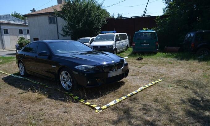 BMW căutat de autoritățile din Marea Britanie, descoperit la Botoșani