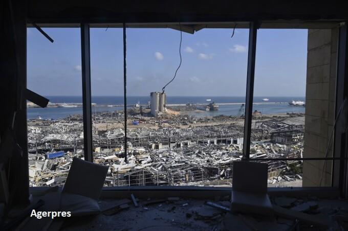 Beirut, după explozie