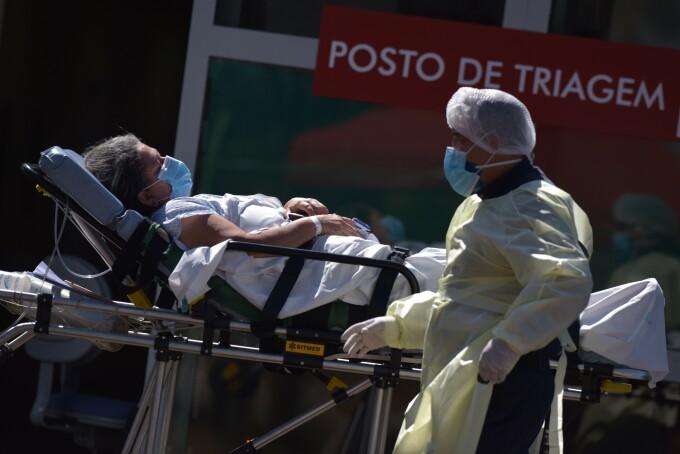 Brazilia, coronavirus