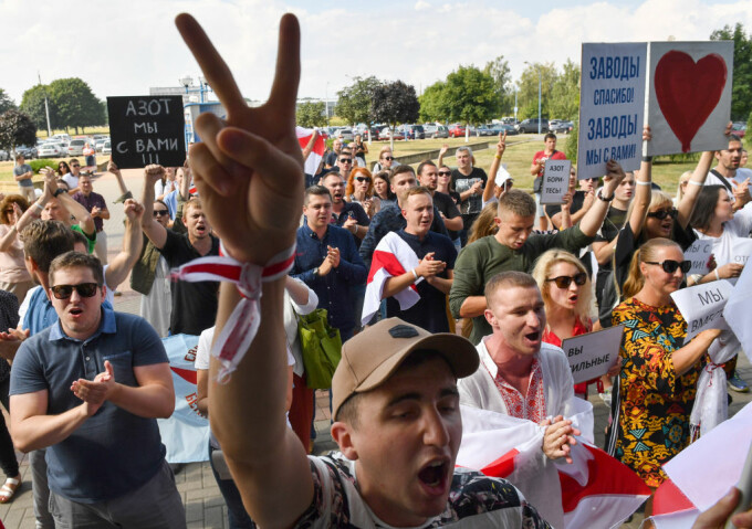 manifestatii belarus
