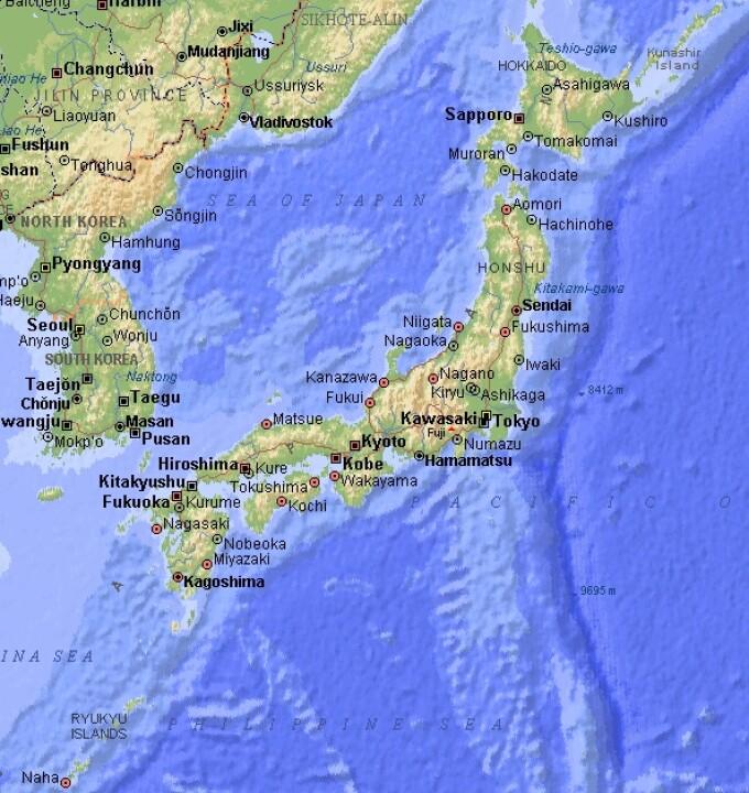 Cutremur Cu Magnitudinea 6 5 In Largul Coastei Estice A Japoniei
