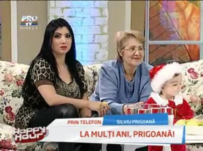 Silviu Prigoana ii face injectii soacrei!